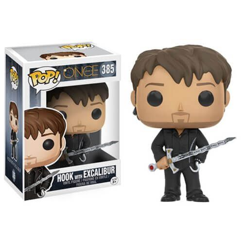 Once Upon a Time Hook avec Excalibur Figurine Funko Pop!