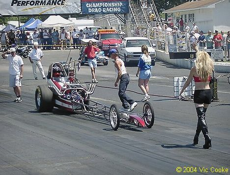 Drag Race Back Up Girls | Hot Rods And Pin Ups