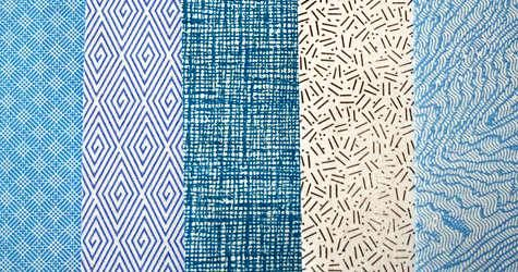 inside out security envelopes reveal lovely patterns to use for gifting, tag making, dot dot dot