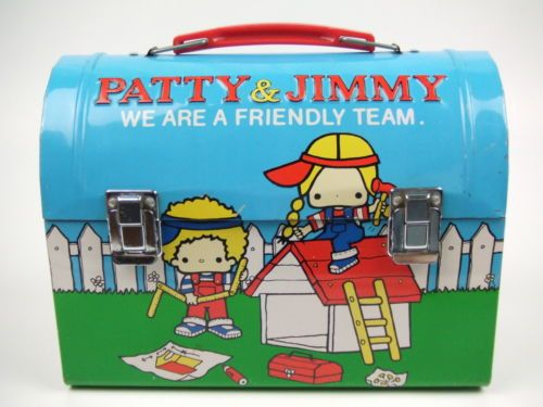 Sanrio Vintage Patty and Jimmy Tin Lunch Box | eBay