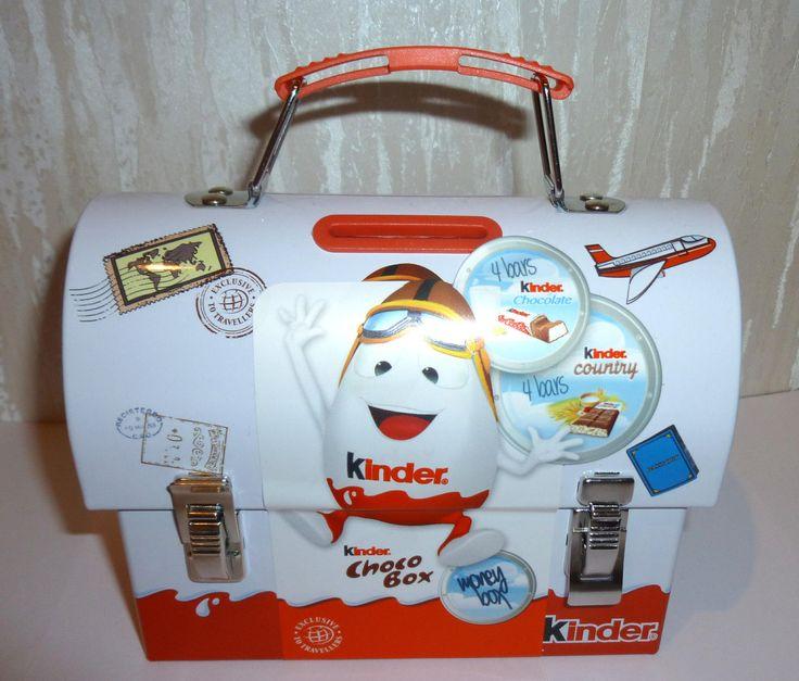 1 Blechmappe Kinder Choco Box Ihrer Wahl Von Ferrero OVP   eBay