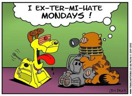 68 best images about monday quotes on pinterest - Funny garfield pics ...