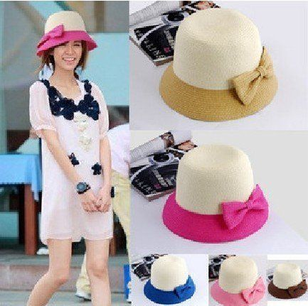 Goedkope , koop rechtstreeks van Chinese leveranciers: europese two tone bowknot zonnehoed zomer stro cap heet verkoopStijl: fashion girls strooien hoedMateriaal: stroGrootte-- 57cm- 58cmDiepte-- 10cmBreedte van de rand-- 6cmKleuren: zwart/roze/blauw/rode