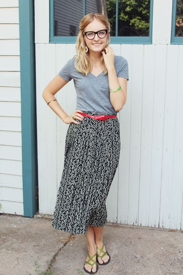 37 best images about How to wear a midi skirt on Pinterest ...