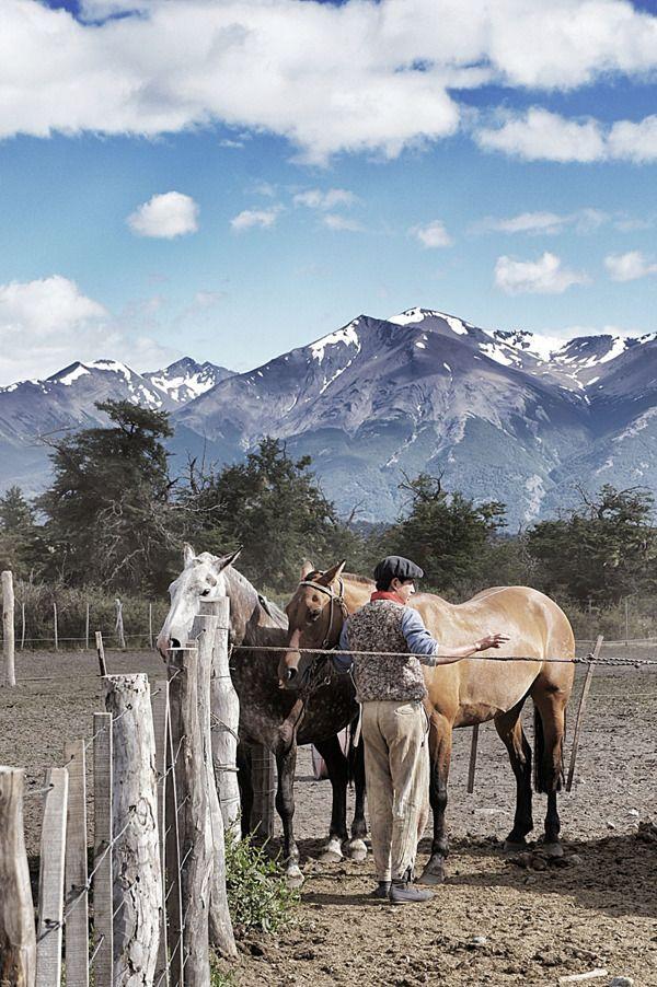 Estancia de la Patagonia Argentina…