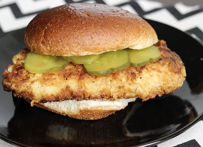 Copycat Chick-Fil-A Sandwich | Skinny Mom | Where Moms Get the Skinny on Healthy Living- under 300 calories