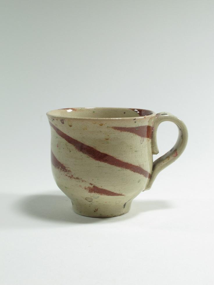 Warren Tippett, mug, agate ware, 1983, Auckland, New Zealand. Collection of Auckland Museum, K6560