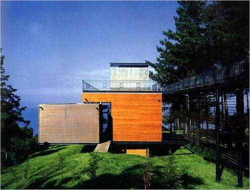 Casa Reutter   Arquitecto: Mathias Klotz  Ubicación: Zapallar Chile   Año: 1998