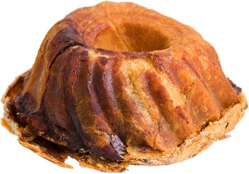 "If you stroll into Andres, the Hungarian bakery and cafe on the Upper East Side, and ask for a babka, they'll hand you this bundt cake-looking thing. ""The Hungarian version of babka,"" they explain, but its real name is actually Kugelhupf (or Gugelhupf or bábovka, depending on what part of the world you're in). Whatever you want to call it, it's the best thing we tasted that day."