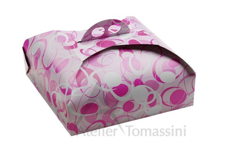 Vintage Magenta #packaging #ateliertomassini #portatorte #pasticceria #scatola #pastry #bakery #design #politenata #politenate #imballaggio #bakery #PE-protect