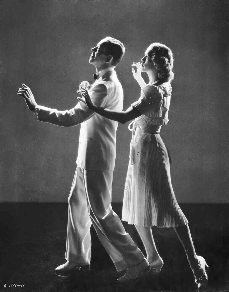 Broadway Melody of 1940   Full publicity shot of Fred Astaire as Johnny Brett and Eleanor Powell as Clare Bennett, in shadows dancing.