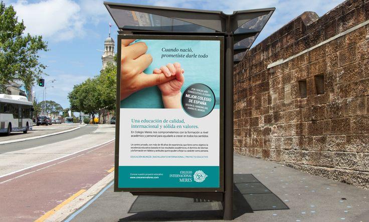 Campaña de publicidad y comunicación para Colegio de Meres por Impact 5