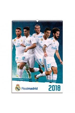 Real Madrid Official Calendar 2018