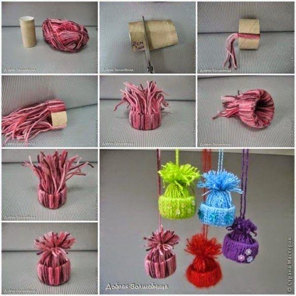 Crochet y dos agujas ideas de adornos navide os tejidos - Adornos navidenos crochet ...