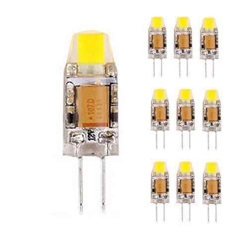 Scoolr Lot de 103W/6W G4LED COB lumière Dimmable 12V AC/DC LED G4COB Ampoule Lampe Blanc: Caractéristique: 1. Tension d'entrée:…