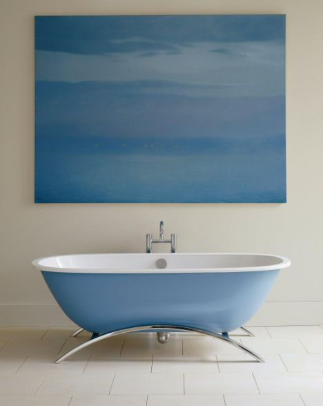 Best 25 Blue Bathtub Ideas On Pinterest Cob Home Adobe House
