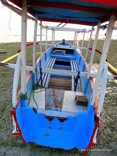 Boat Gili Meno