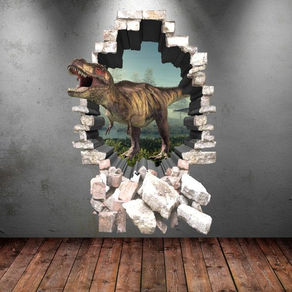 3d Dinosaur Wall Art best 25+ dinosaur wall stickers ideas on pinterest | dinosaur wall