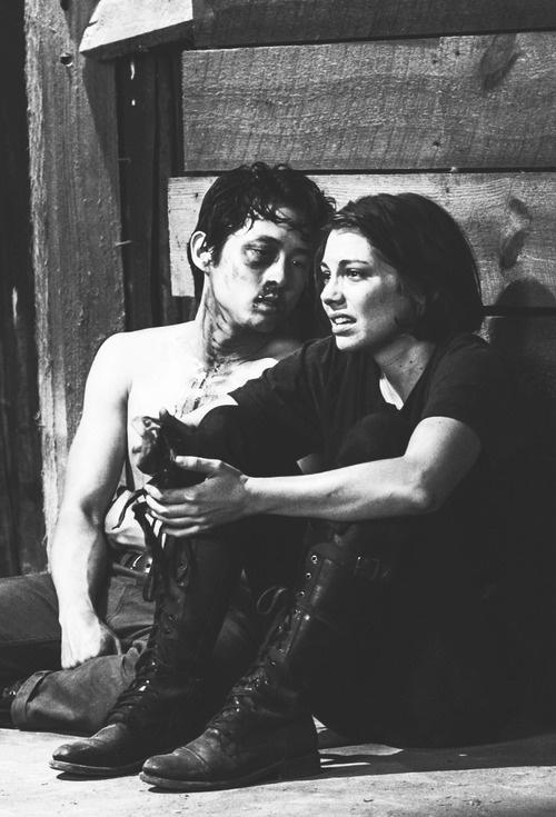 Glenn & Maggie #The Walking Dead