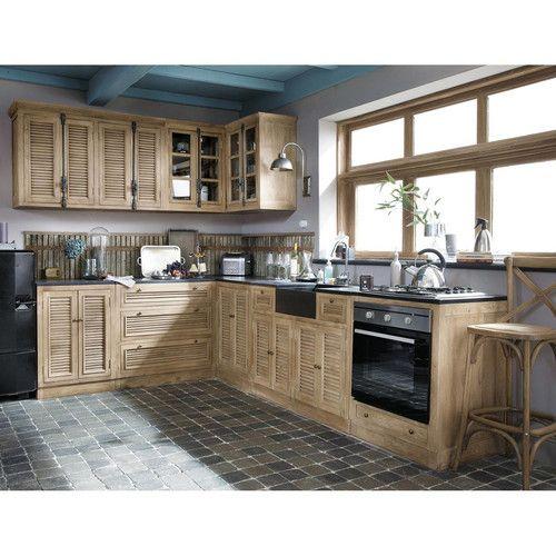 25 best ideas about meuble haut de cuisine on pinterest for Cuisine maison du monde