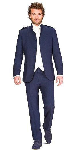 Karl Lagerfeld kostuum voor de bruidegom