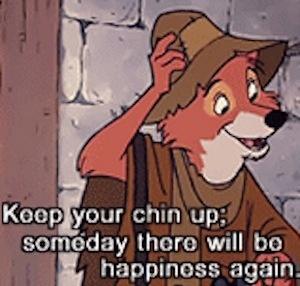 Disney Robin Hood Quote