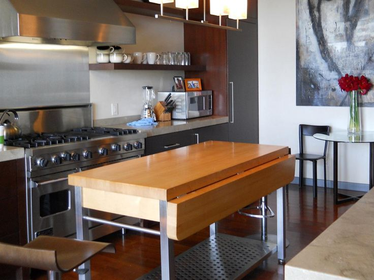mobile kitchen island. Add a kitchen island to your space and earn seating room for guests  or even Best 25 Portable ideas on Pinterest Movable