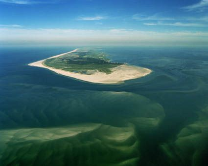 Terschelling, could also be in beautiful green and blue.