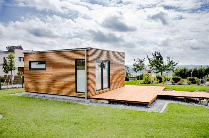 Modulový dům 6x6 m - Polling   Modulové dřevěné domy   NATURHOUSE®