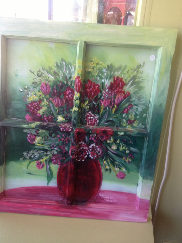 25 Best Ideas About Painted Glass Windows On Pinterest
