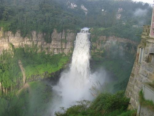 Salto del Tequendama. Cundinamarca-Colombia