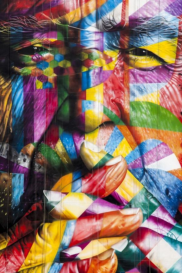 Street Art by Eduardo Kobra   São Paulo, Brasil