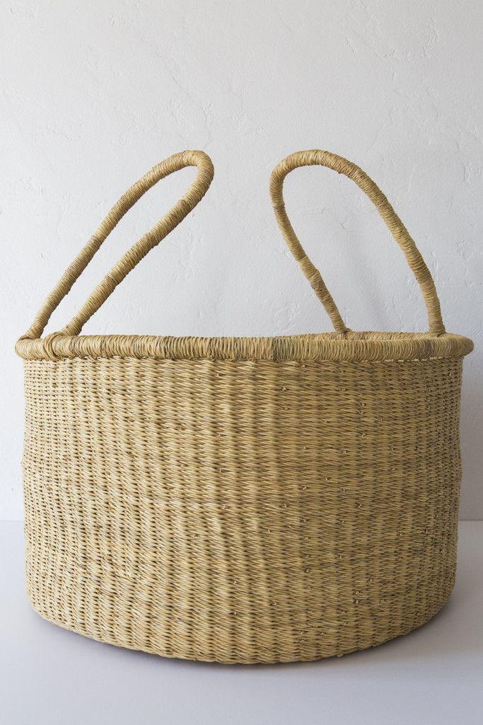 medina large natural accra basket – Lost & Found