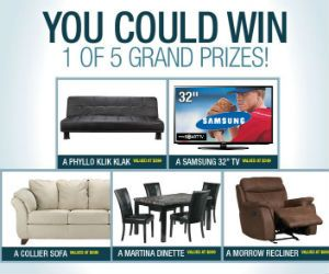 Win 1 of 5 Grand Prizes from Leons