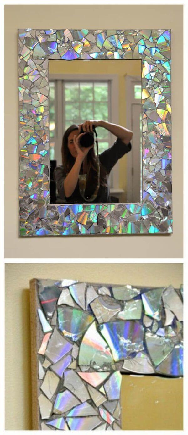 29 Fancy DIY Spiegel Ideen, die gut in Ihr Zuhause aussehen wird