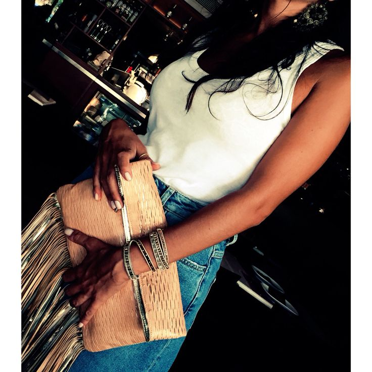 #Streetsbags#clutch#leather#tassels