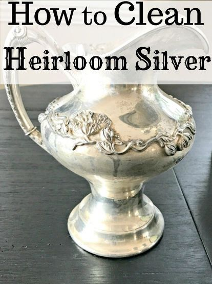 25 best ideas about clean sterling silver on pinterest cleaning tarnished silver cleaning. Black Bedroom Furniture Sets. Home Design Ideas