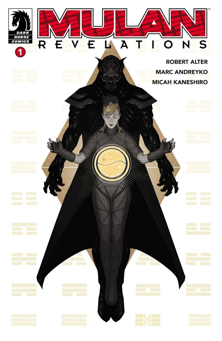 Mulan Revelations Comic Cover