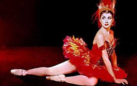 Margot Fonteyn as 'The Firebird'