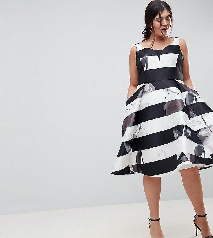 Coast Plus - Skaterkleid mit Streifen auf einem Blumenmuster - Weiß Jetzt bestellen unter: https://mode.ladendirekt.de/damen/bekleidung/kleider/sonstige-kleider/?uid=f23d9dab-070d-5465-b78b-c1872bc877d5&utm_source=pinterest&utm_medium=pin&utm_campaign=boards #sonstigekleider #damen #kleider #female #designerkleider #bekleidung Bild Quelle: asos.de