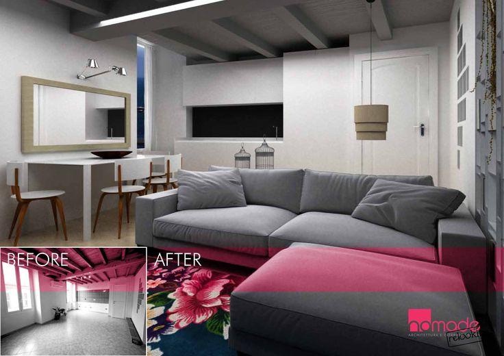 Un appartamento nel centro di Milano, un twist eclettico in equilibrio tra classico e contemporaneo #nomaderelooking #nomadearchitettura#relooking#ristrutturare #interiors#interiordesign #italiandesign #livingroom
