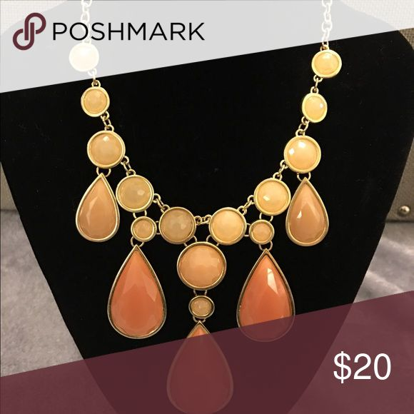 Ombré peach necklace New with tags Jewelry Necklaces