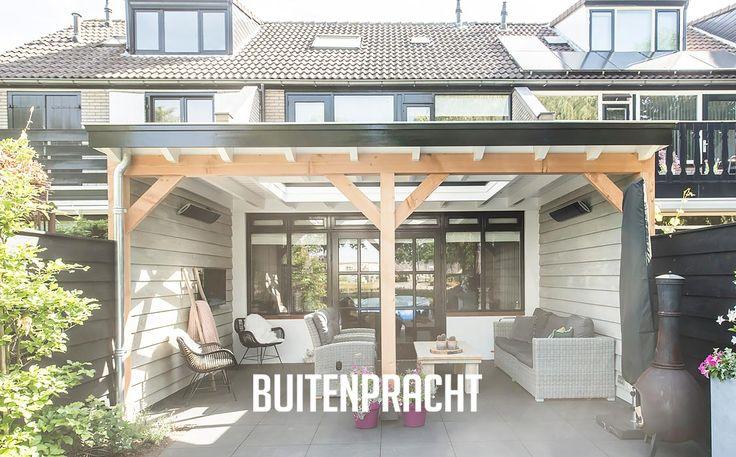 120 besten veranda berging overkapping carport houten bijgebouwen bilder auf pinterest - Prieel buiten ...