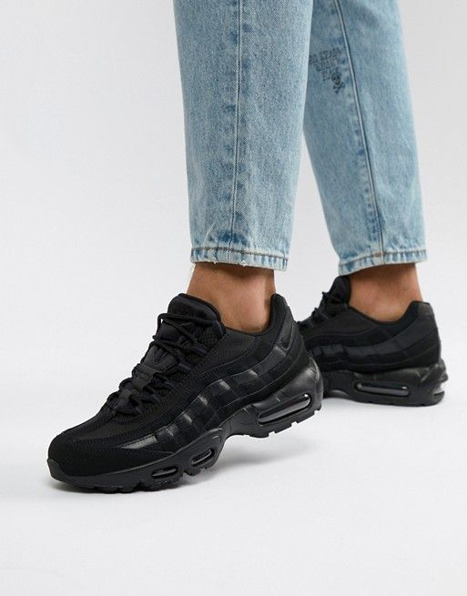 buy popular 90c91 15395 Nike Air Max 95 Trainers In Black 609048-092 in 2019   Sneakers   Nike air  max, Nike air, Air max 95