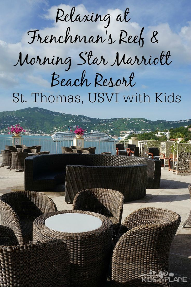 What to Do with Kids in St Thomas - Relaxing Day at the Beach at Marriott Frenchman's Reef and Morning Star Beach Resort