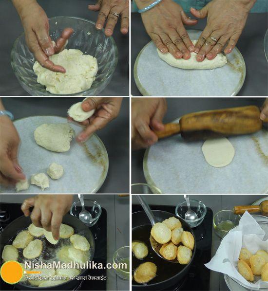 Sooji Golgappa - Rawa Panipuri Recipe