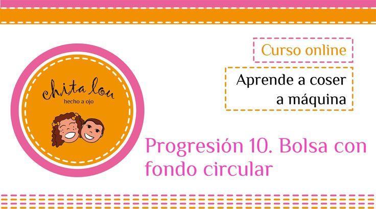 Cómo hacer una bolsa con fondo circular