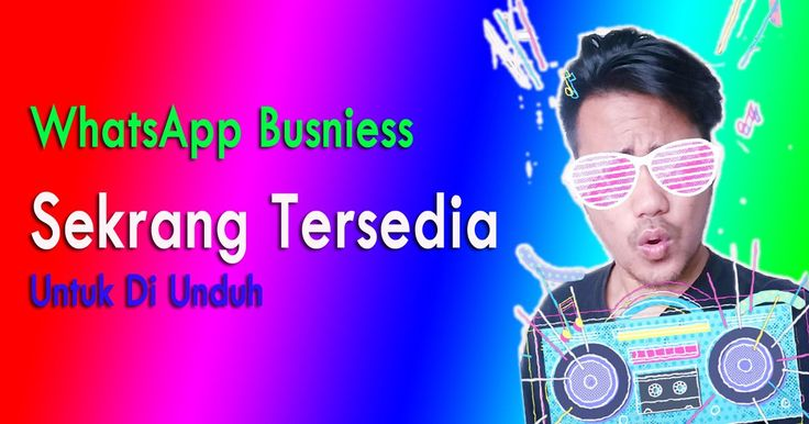Hallo sobatSelamat pagi, adakabar gembira nih buat para pembisnis indonesia karna WhatsApp Busniess ini sudah hadir loh di dunia ini ...