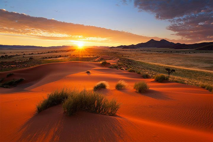 Un photographe a parcouru le magnifique désert de Namibie pour vous rapporter des clichés saisissants