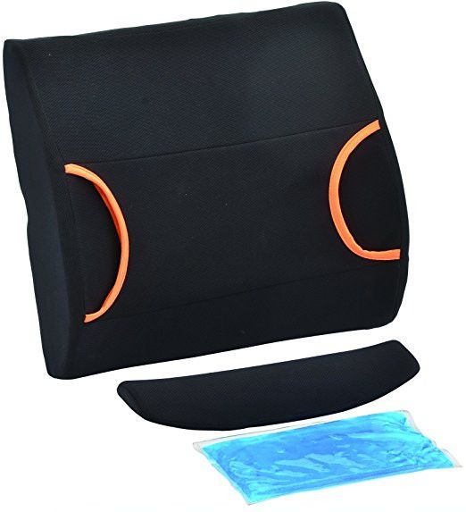 NOVA Medical Back Cushion with Hot and Cold Pack - Black Come Check out all of the great Fitness and Physical Therapy products PTconnect has to offer!  We carry only the top brands like Valeo, Harbinger, CanDo, Bodysport, SKLZ, Thera, OPTP, Trigger Point, and many more! Let us help get you back on track to a better future!  #therapy #ripped #bodybuilding #athlete #ptconnect #health #fitnessgirl #rehab #fit4life #beastmode #weightloss #fitnessjourney #fitnessmotivation #fitness #trainhard